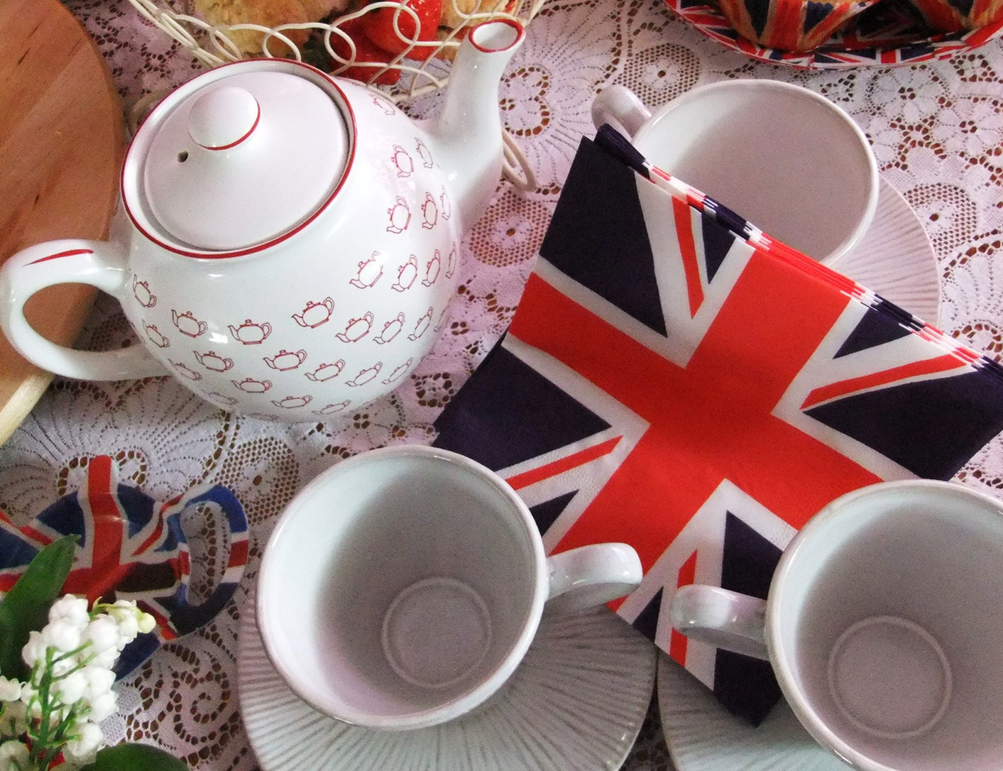 Открытка английский чай